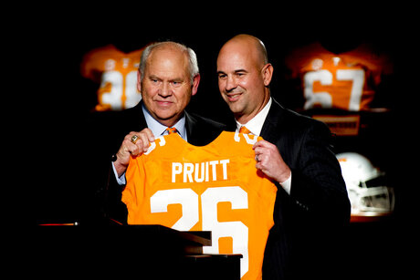 Pruitt Tennessee Football