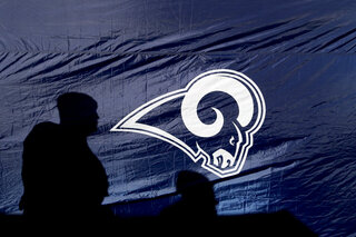 Eagles Rams Football