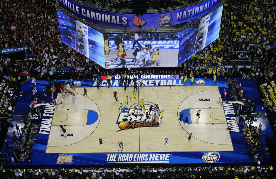 NCAA Final Four Michigan Louisville Basketball