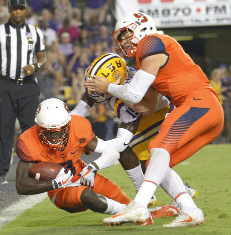 Syracuse LSU Football