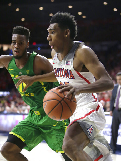 Oregon Arizona Basketball