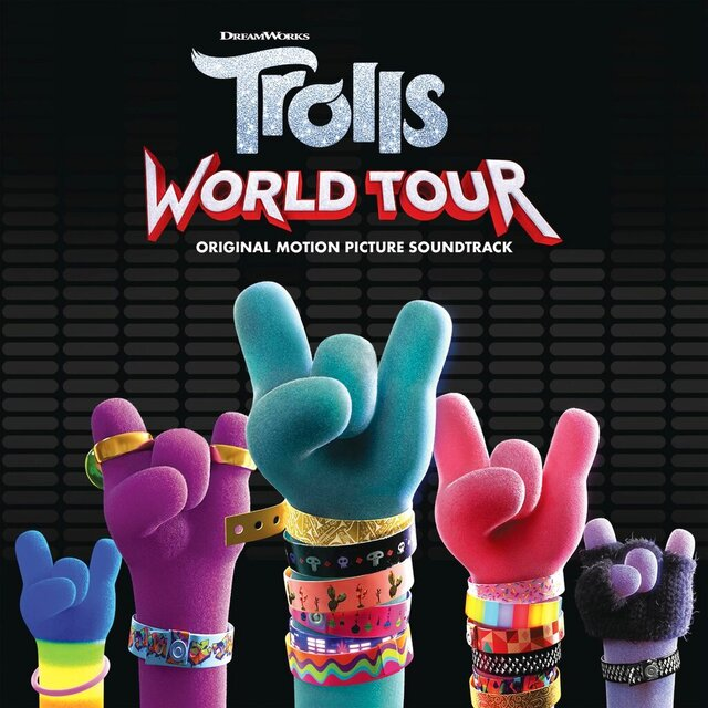 "This cover image released by RCA shows ""Trolls: World Tour (Original Motion Picture Soundtrack)"". (RCA via AP)"