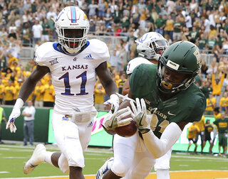 Kansas Baylor football