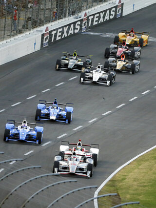 Will Power, Tristan Vautier, Scott Dixon, Tony Kanaan