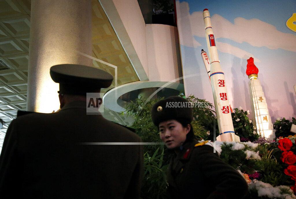North Korea Photos Flowers and Rockets