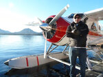 In this 2014 photo, Randy Sullivan poses for a photo in Ketchikan, Alaska. Sullivan was the pilot of one of the two sightseeing planes that crashed in midair Monday, May 13, 2019, the National Transportation Safety Board announced after a team arrived from Washington, D.C., to investigate the crash. Alaska State Troopers in a statement late Tuesday said Sullivan was killed in the crash. (James Glionna/Los Angeles Times via AP)