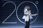 Host Ricky Martin speaks at the 20th Latin Grammy Awards on Thursday, Nov. 14, 2019, at the MGM Grand Garden Arena in Las Vegas. (AP Photo/Chris Pizzello)