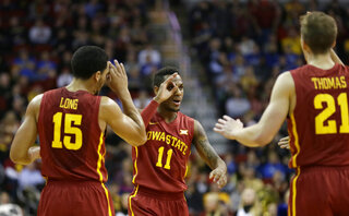Monte Morris, Naz Long, Matt Thomas