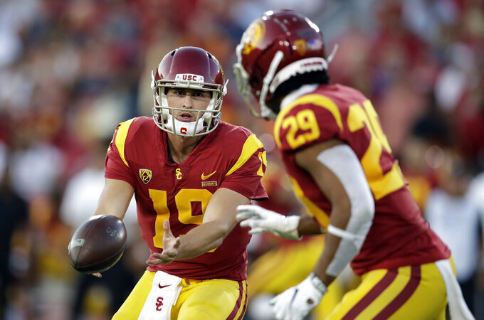 Backup QB Matt Fink leads USC past No. 10 Utah 30-23