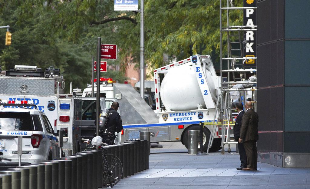 Police intercept suspicious package addressed to Joe Biden