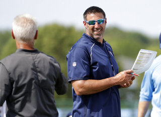 Mike Vrabel, Kerry Coombs