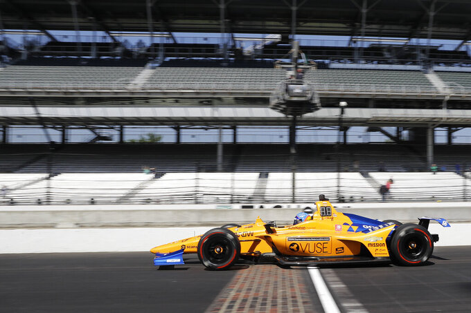 Alonso: 'We will be back stronger' after Indy 500 crash