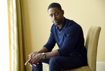 FILE - This Aug. 3, 2017 file photo shows actor Sterling K. Brown, a cast member in the NBC series