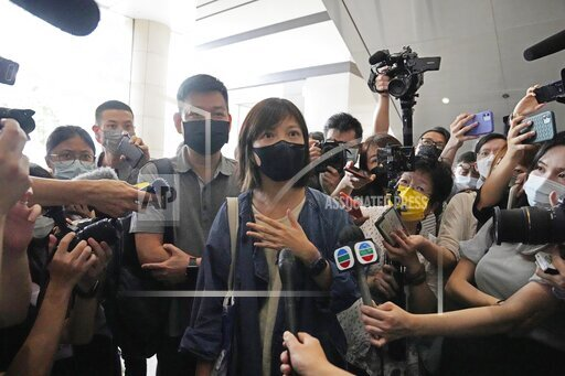 CORRECTION Hong Kong Apple Daily