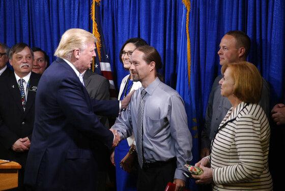 Donald Trump, John Trandem