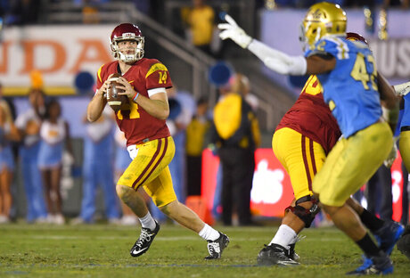 Sam Darnold, Kenny Young