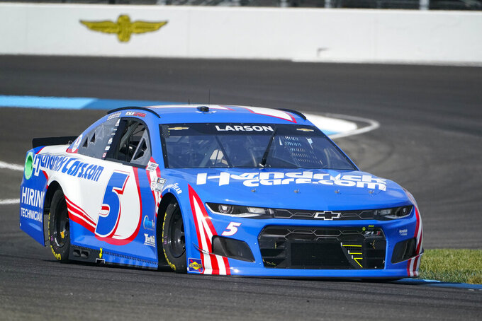 Indy's road course opens to mixed reviews from Cup drivers
