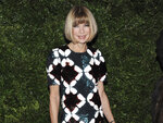 FILE - This Nov. 17, 2008 file photo shows Vogue editor Anna Wintour at the CFDA/Vogue Fashion Fund finalists event in New York. Wintour offers and online MasterClass on creativity and leadership. (AP Photo/Evan Agostini, File)