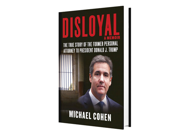 This image provided by Skyhorse Publishing shows the cover of Michael Cohen's new book,