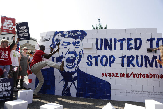 APTOPIX Germany Campaign 2016 Trump