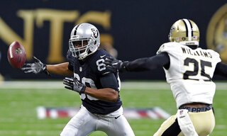 Raiders Saints Football