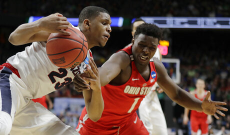 NCAA Ohio St Gonzaga Basketball
