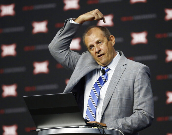 Big 12 Notebook: 'Horns down' on deck at Big 12 media days