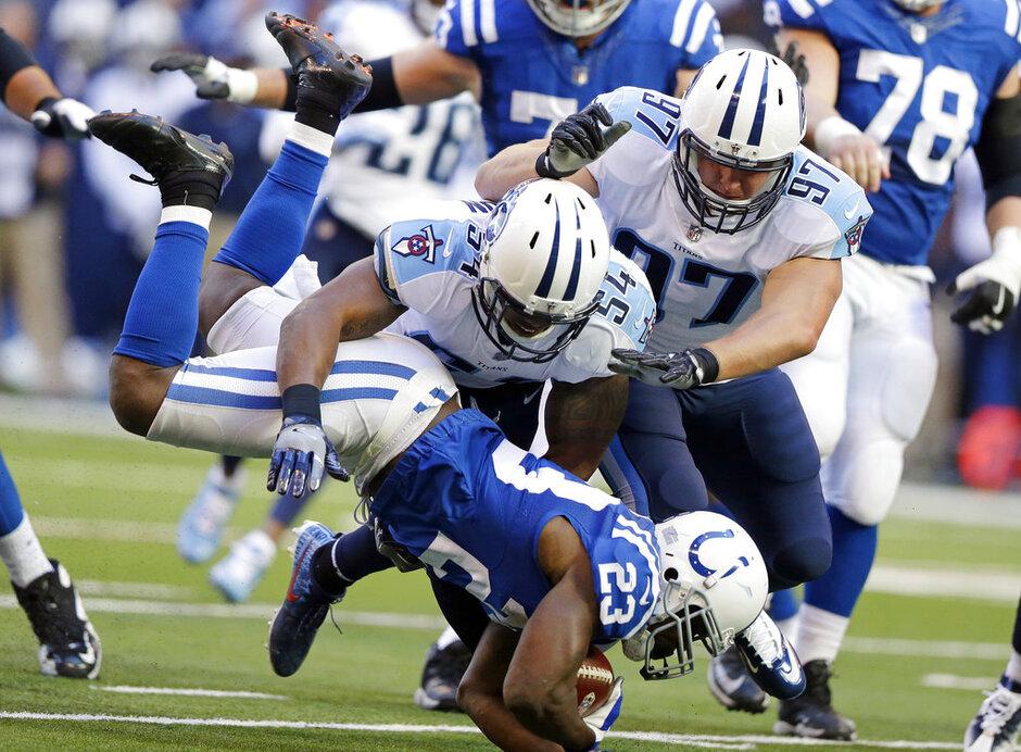 APTOPIX Titans Colts Football