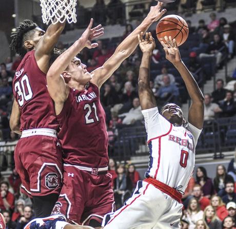 South Carolina Mississippi Basketball