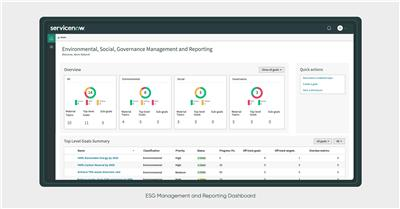 ServiceNow ESG Management and Reporting (Graphic: Business Wire)