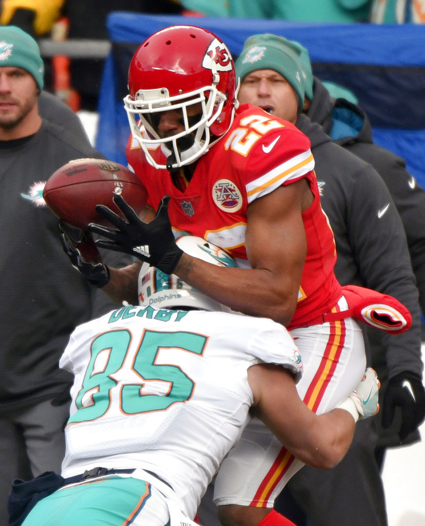 Marcus Peters, A.J. Derby
