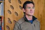 This image provided by Annapurna Pictures shows Billy Crudup as Elgie Branch in Richard Linklater's