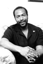 """FILE - This is an undated photo of soul singer Marvin Gaye in New York. Gaye is featured in """"1971: The Year That Music Changed Everything,"""" an eight-part documentary series that premieres Friday on the Apple+ streaming service.  (AP Photo, File)"""