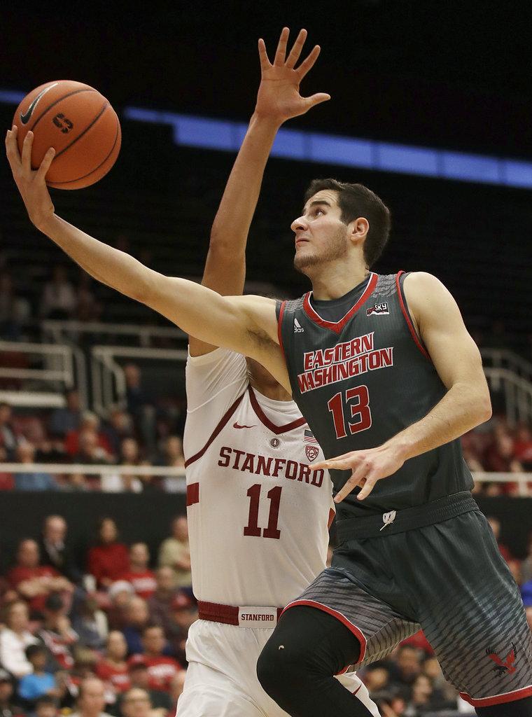 E Washington Stanford Basketball