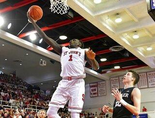 NCAA Basketball between Butler and St. John's