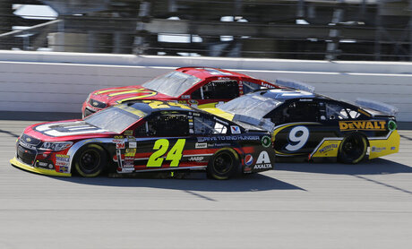 Jeff Gordon, Marcos Ambrose, Jamie McMurray