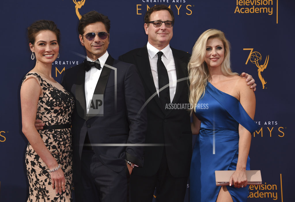 APTOPIX 2018 Creative Arts Emmy Awards - Arrivals - Night One