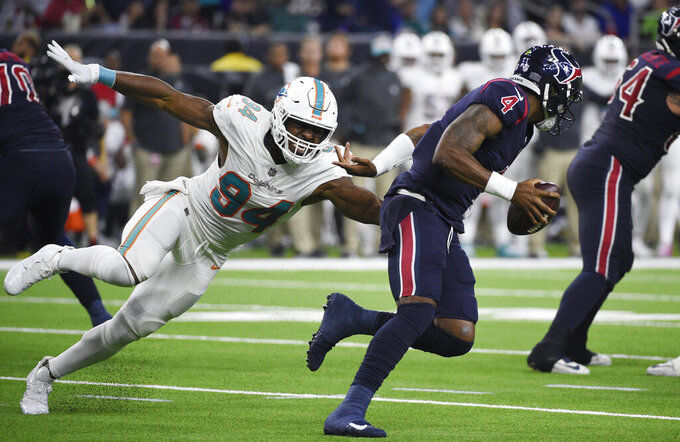 Miami Dolphins at Houston Texans 10/25/2018