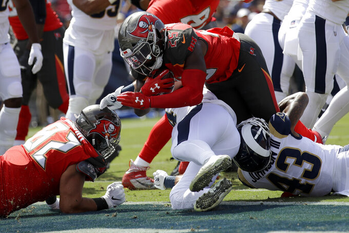 Tampa Bay Buccaneers at Los Angeles Rams 9/29/2019