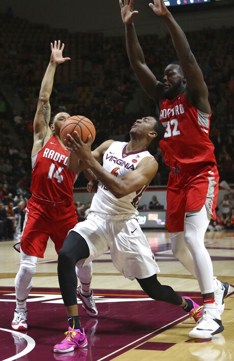 Radford Virginia Tech Basketball