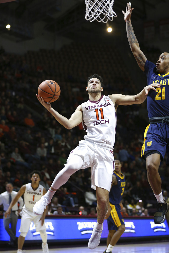 Virginia Tech Wilson Journey Basketball