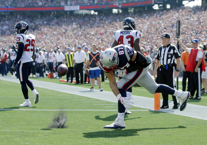 Houston Texans at New England Patriots 9/24/2017