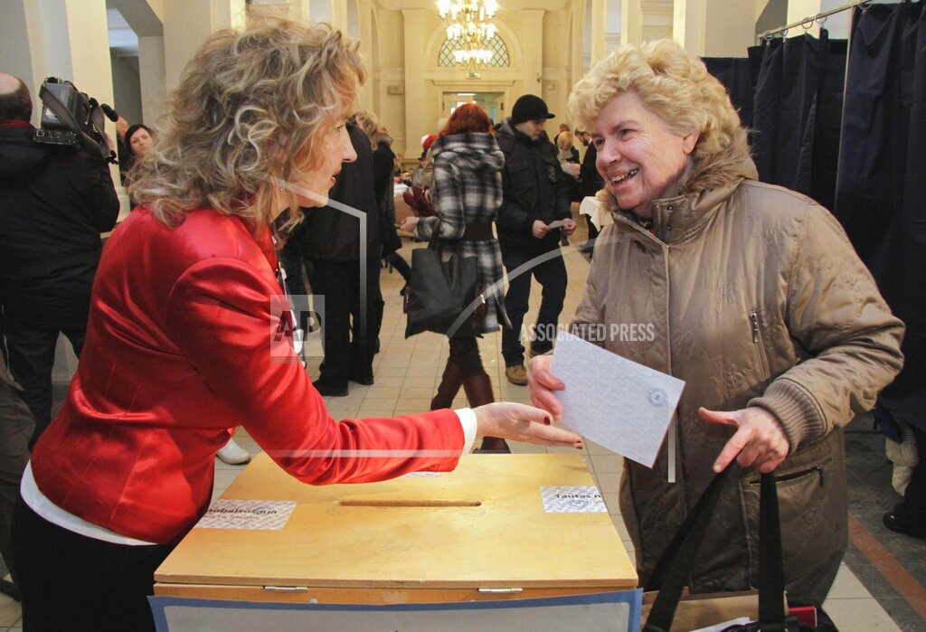 Latvia Language Referendum