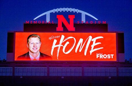 Nebraska Forst Hired Football