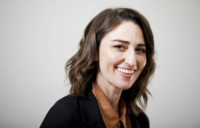 FILE - This March 26, 2019 photo shows musician Sara Bareilles posing for a portrait in New York. Bareilles' latest project,