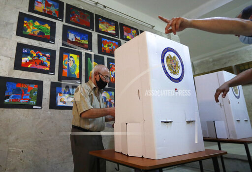 APTOPIX Armenia Election