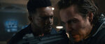 This image released by STXfilms shows Stephan James, left, and Taylor Kitsch in a scene from