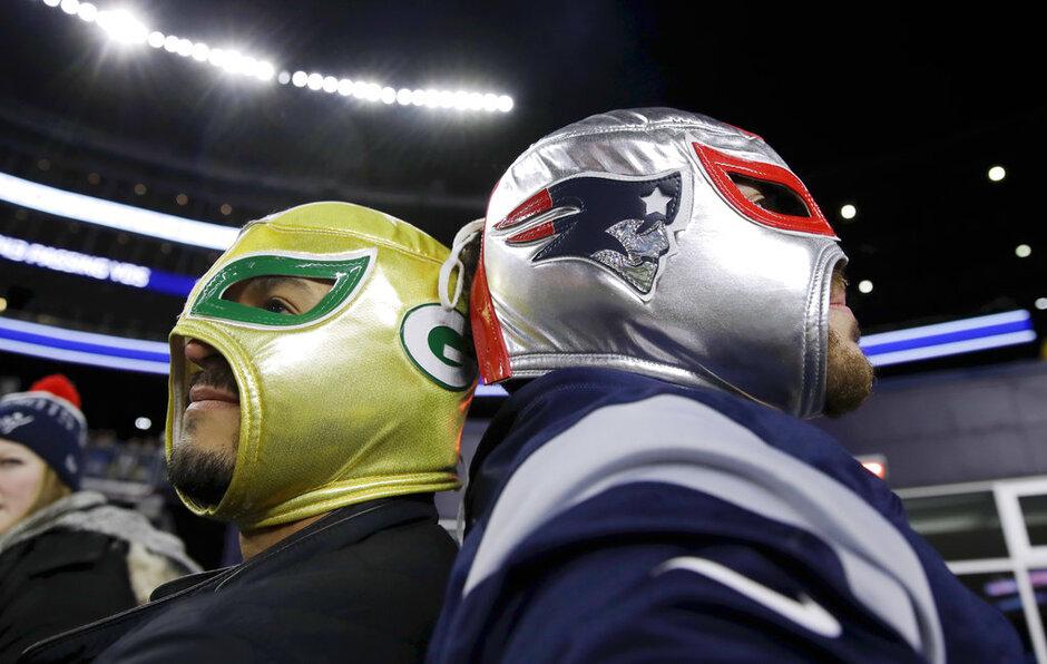 Packers Patriots Football