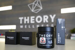 Packages of marijuana products are displayed at Theory Wellness, a cannabis retail store, Thursday, Jan. 7, 2021, in South Portland, Maine. Pot has swiftly become just another retail product in Maine. (AP Photo/Robert F. Bukaty)
