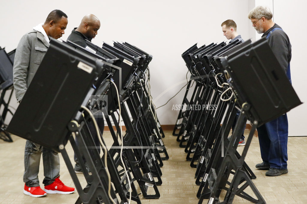Election 2018 Early Voting Ohio